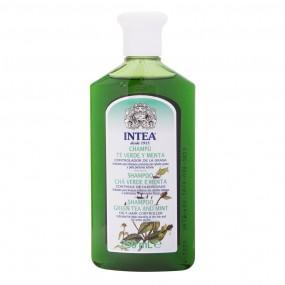 Shampoo Intea® GRÜNER TEE und MINZE für fettiges Haar